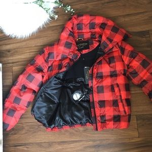 Juicy Couture Black Label Puffer Jacket NWT
